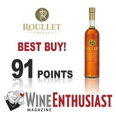 Wine Enthusiast awarded Roullet Cognac VSOP the title BEST BUY