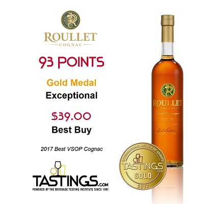 Roullet VSOP – the best in its category*