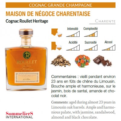 Cognac Roullet again in Sommeliers International